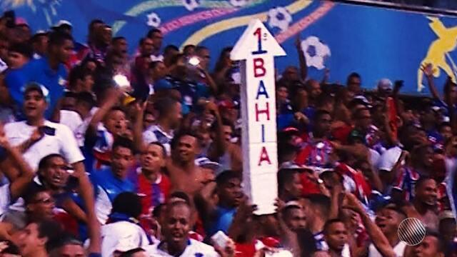 Com apoio da torcida, Bahia vence o Criciúma na Arena Fonte Nova