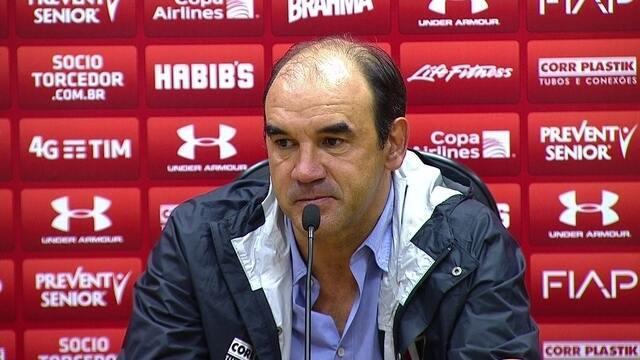 Veja trecho da entrevista do técnico Ricardo Gomes, do São Paulo