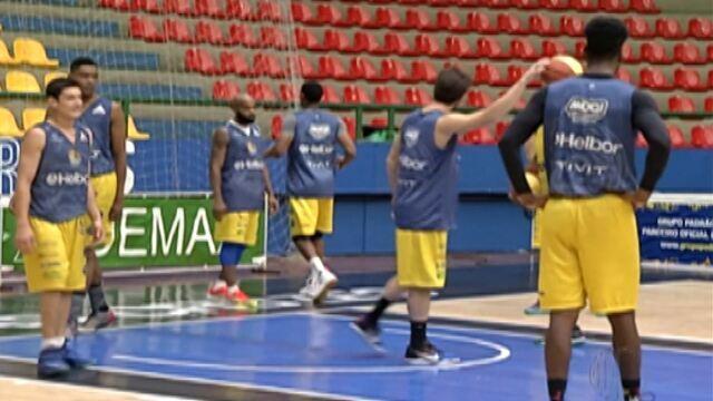 Mogi Basquete faz último treino antes da decisão do Campeonato Paulista