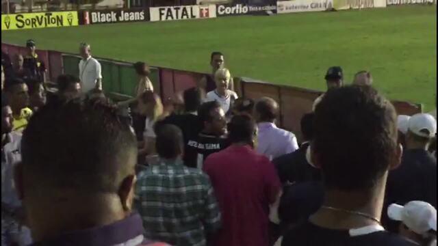 Filho de Eurico Miranda se envolve em confusão após jogo do Vasco em São Januário
