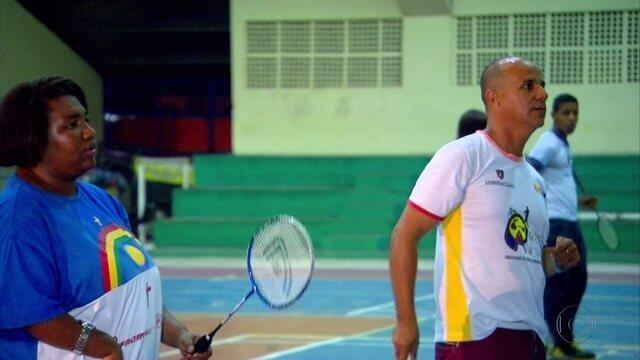 Casal de paratletas pernambucanos encontra no badminton uma paixão para além das quadras