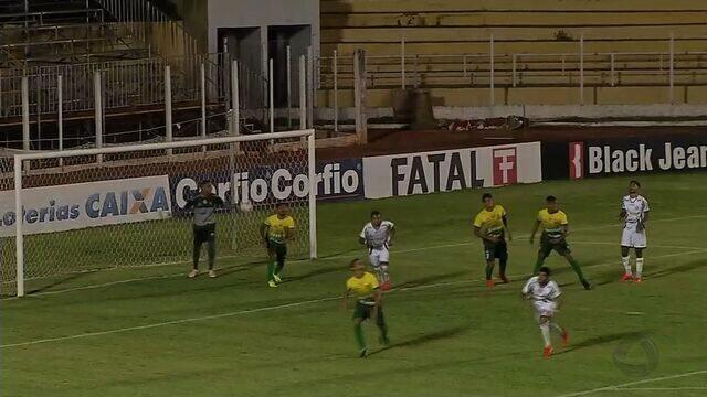 Luverdense e Cuiabá empatam sem gols na semifinal da Copa FMF Sub-21