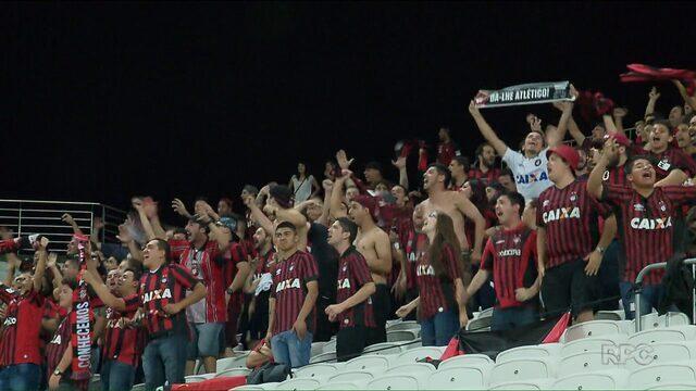 Atlético-PR vai decidir em casa classificação para a Libertadores