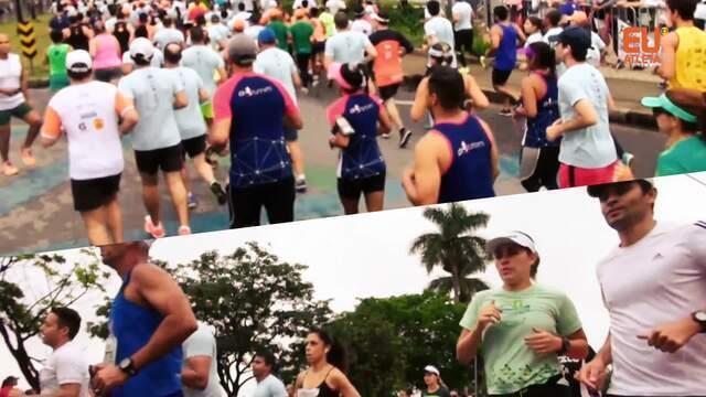 Mais de 15 mil pessoas participam da Volta da Pampulha em sua 18ª edição