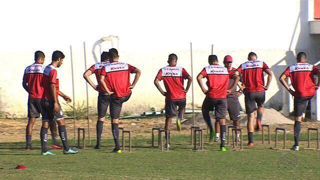 Descontração marca o início da pré-temporada do Sergipe
