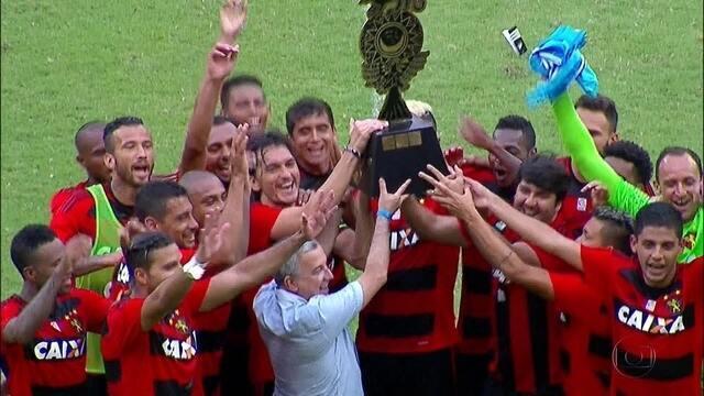 Em dia de apresentação do elenco, Sport vence The Strongest e leva Taça Ariano Suassuna