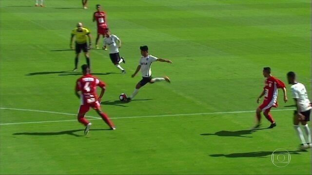 Melhores momentos de Corinthians 2 x 1 Batatais pela Copa São Paulo de futebol Júnior