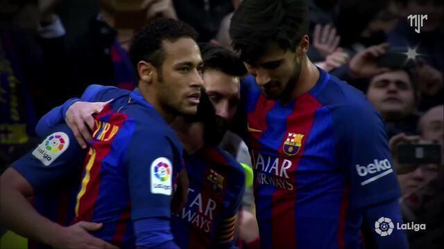 La Liga - Jornada 21 - FC Barcelona 3x0 Athletic Bilbao