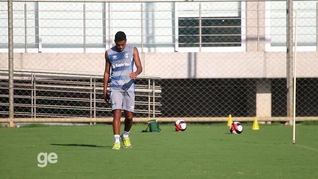 Grêmio treina no CT Luiz Carvalho