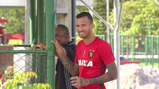 No Sport, tem atacante com moral com o técnico Daniel Paulista