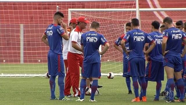 Vila Nova visita o Anápolis antes de pegar o Vasco na Copa do Brasil