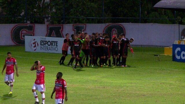 Os gols de River-PI 1 x 2 Sport pela quarta rodada da Copa do Nordeste