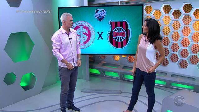 Maurício Saraiva fala sobre desempenho do Inter em jogo contra o Brasil de Pelotas