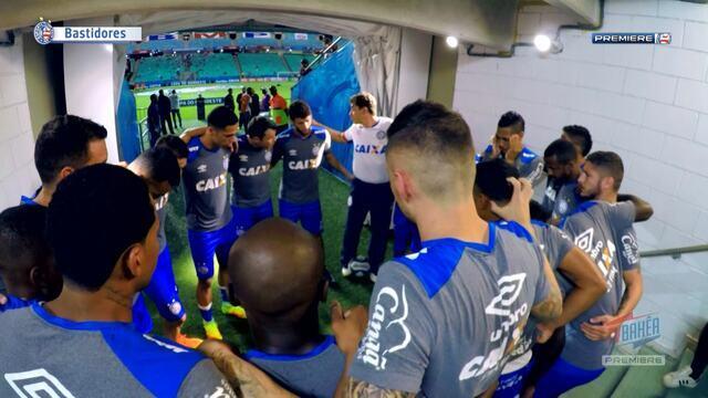 TV Bahêa - Bastidores da vitória do Bahia sobre o Altos-PI pela Copa do Nordeste