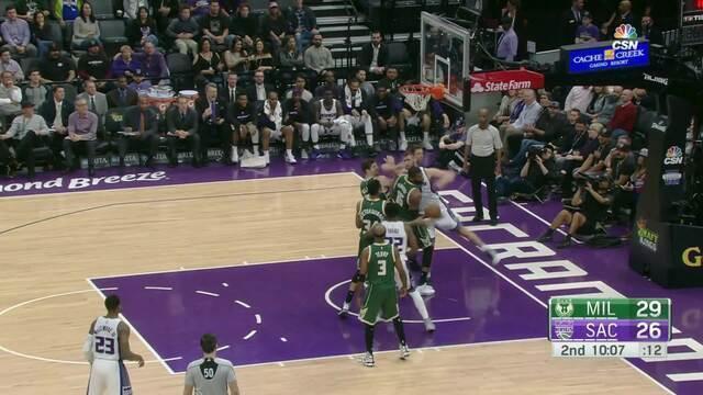 Melhores momentos: Milwaukke Bucks 116 x 98 Sacramento Kings pela NBA