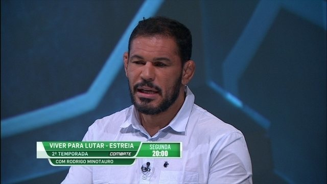 Minotauro fala sobre seu reality show no Canal Combate