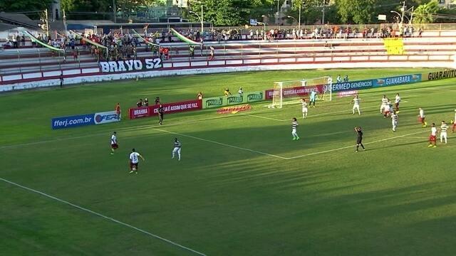 Os gols de Madureira 2 x 2 Fluminense pela 5ª rodada da Taça Rio