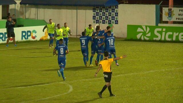 Gol do Prude! César Gaúcho faz o gol e define o placar