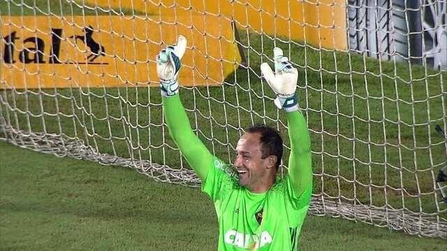 Se disputa para final for para pênaltis, Sport aposta as fichas no goleiro Magrão