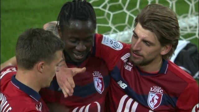 Melhores momentos: Lille 3 x 0 Guingamp pela 34ª rodada do Campeonato Francês