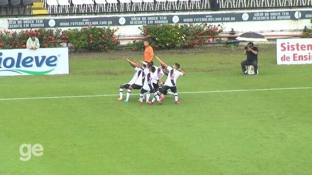 Melhores momentos: Vasco 3 x 0 Flamengo pelas semis da Taça Guanabara Sub-20