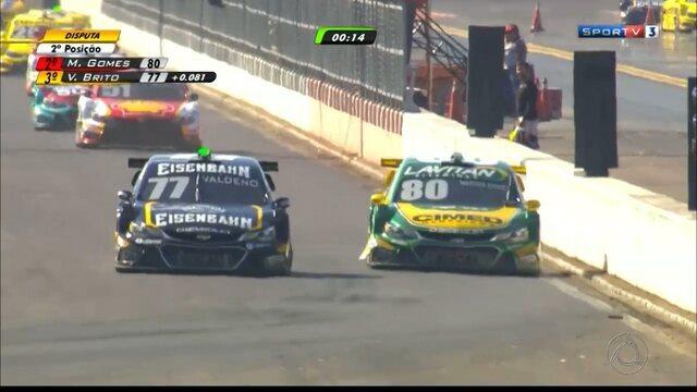 Valdeno Brito termina no top-10 nas duas corridas da Stock Car em Nova Santa Rita