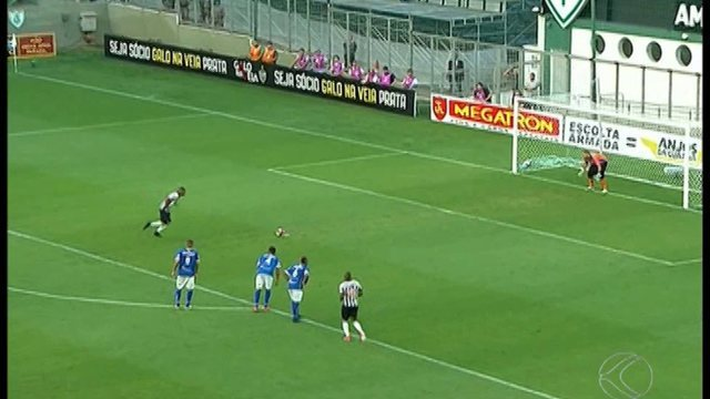 Atlético-MG vence URT que se despede do Mineiro