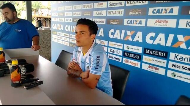 Artur fala dos motivos que escolheu o Londrina jogar em 2017