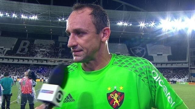 """Magrão lamenta derrota de virada para o Botafogo: """"Gosto amargo"""""""