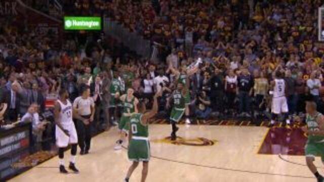 Top 5: Confira as melhores jogadas do jogo três entre Boston Celtics e Cleveland Cavaliers