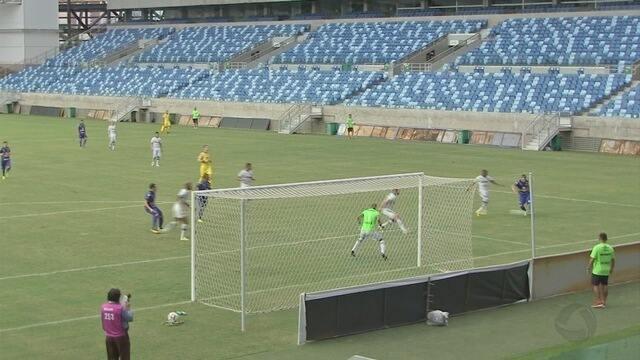 Em tarde apática, Cuiabá é derrotado pelo Confiança na Arena Pantanal pela Série C