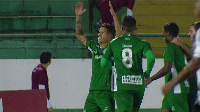 Os gols de Guarani 2 x 0 Figueirense pela 3ª rodada da série B do Campeonato Brasileiro