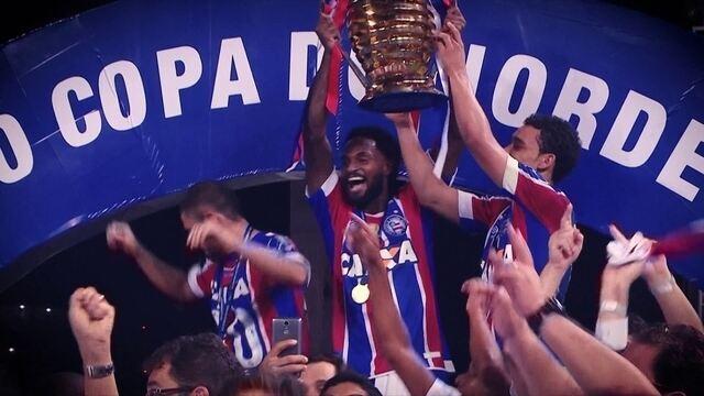 Clipe homenageia o Bahia, Campeão da Copa do Nordeste