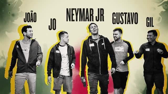 BLOG:  Neymar acerta cinco e erra duas em teste de reflexo com parças
