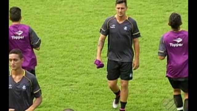 Eduardo Ramos volta e Remo segue preparação para jogo contra Cuiabá