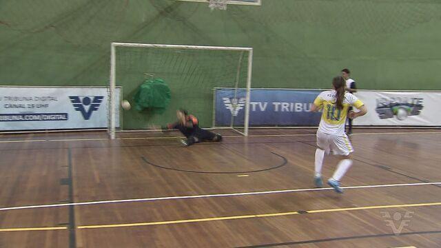 Confira as campanhas dos finalistas do feminino da Copa TV Tribuna de Futsal