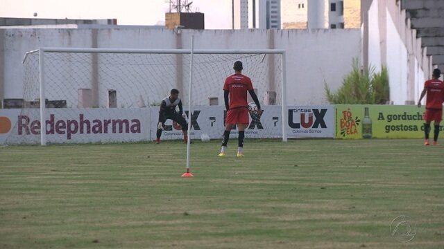 Campinense investe em treino secreto às vésperas do jogo contra o Itabaiana