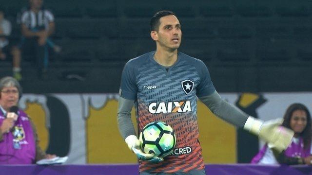 Gatito Fernández tem ótima atuação contra o Bahia