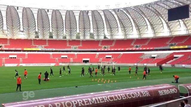Ainda sem técnico, Inter inicia preparação para pegar o Palmeiras