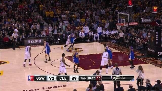 NBA Finals: Melhores momentos do jogo 4 entre Cleveland x Warriors