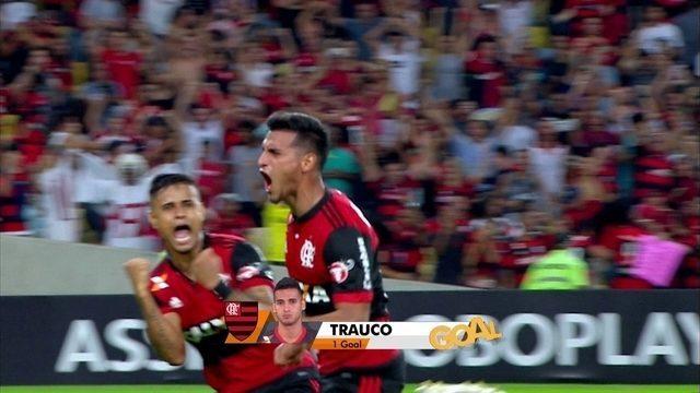 BLOG: Late goal! Confira a narração em inglês do gol de Trauco nos acréscimos do Fla-Flu