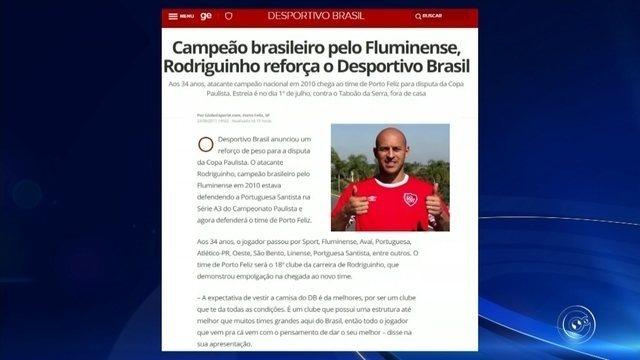 Campeão brasileiro pelo Fluminense, Rodriguinho reforça o Desportivo Brasil
