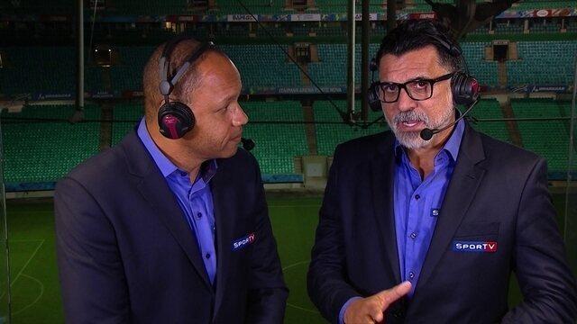 Ricardo Rocha diz que Flamengo não jogou bem e esperava mais de Diego e Éverton Ribeiro