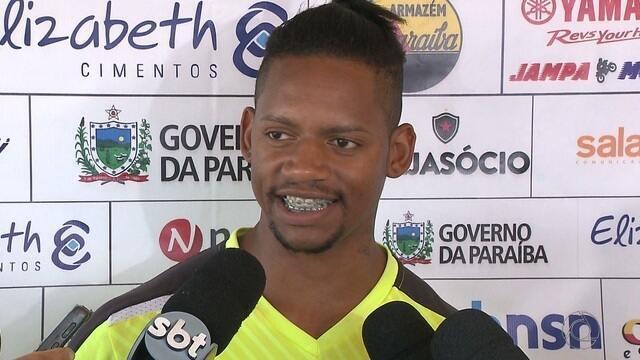 Vanderlei deve ser a novidade do Botafogo-PB para partida contra o ASA de Arapiraca