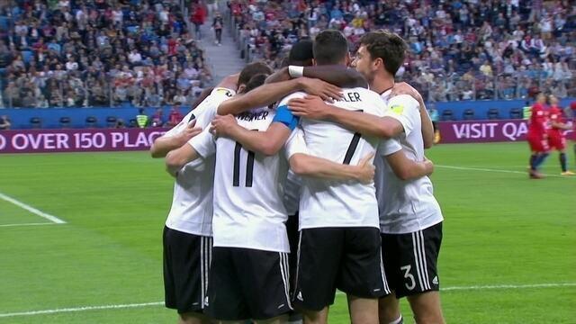 O gol de Chile 0 x 1 Alemanha pela final da Copa das Confederações 2017