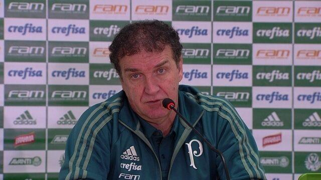 Veja a entrevista coletiva do técnico Cuca após o empate com o Flamengo