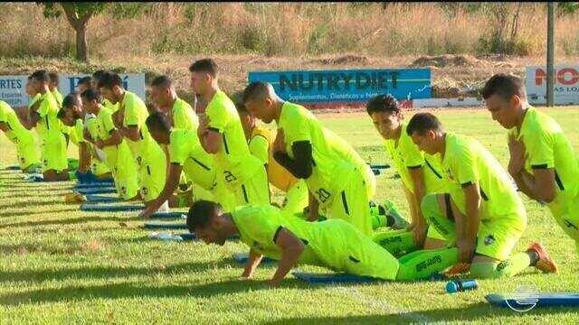 River-PI traz reforços do Piauí e continua esquema de preparação para Copa Piauí