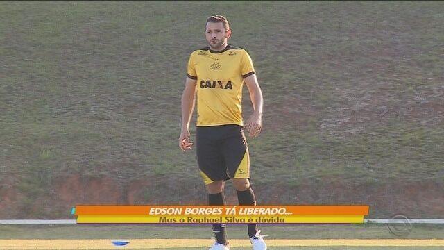 Com Edson Borges de volta, Criciúma se prepara para enfrentar o Náutico