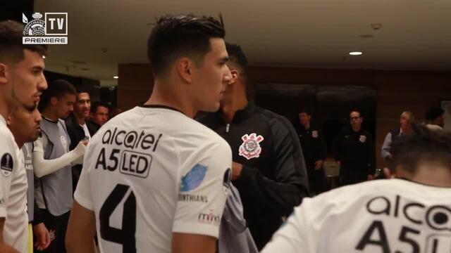 Assista aos bastidores da vitória do Corinthians sobre o Patriotas