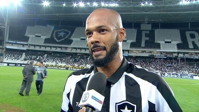 """Bruno Silva, sobre time reserva do Botafogo: """"Jair pode contar com todo mundo"""""""